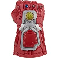 Marvel Avengers: Endgame Red Infinity Gauntlet Electronic Fist Role-Play Toy, Lights, Sounds, Kids Ages 5 and Up