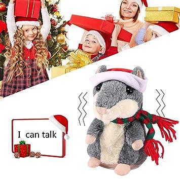 Pawaca Hamster Plüsch Toys In Christmas Suit, Reden Hamster ...