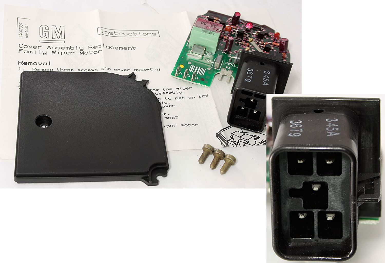 N//A in ACDelco 12463090 GM Original Equipment Windshield Wiper Motor Pulse Board
