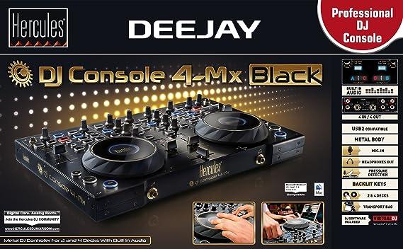 Hercules Dj Console 4-Mx Black