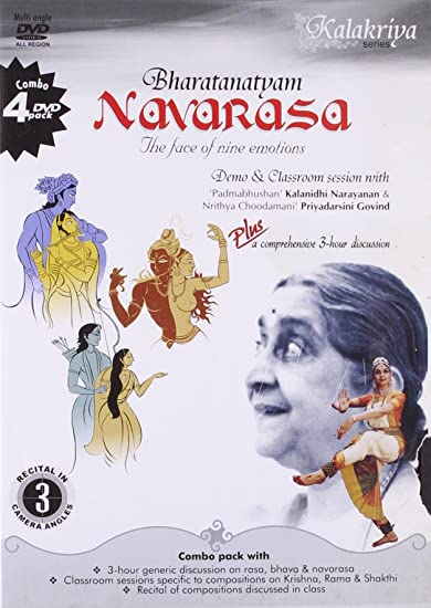 Navarasa-the Face of Nine Emotions-Pack of 4 DVDs: Amazon in