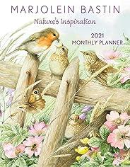 Marjolein Bastin Nature's Inspiration 2021 Large Monthly Planner Calendar