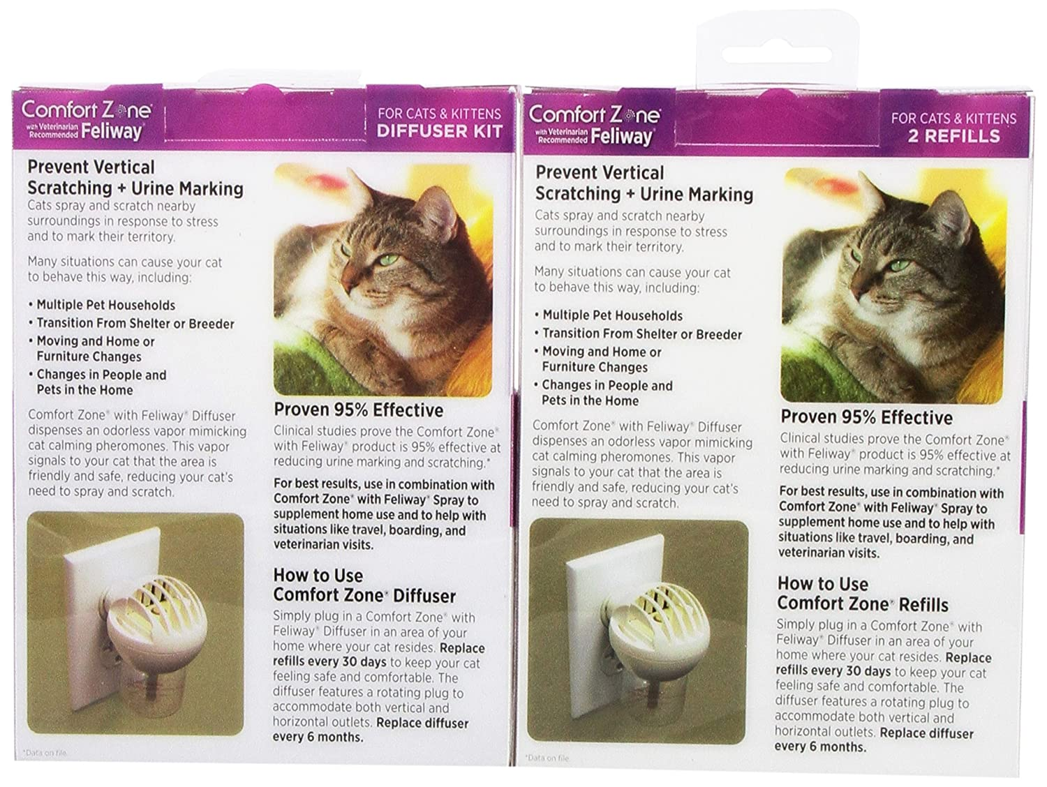 calming an product kit comfort diffuser mimicking or plug cats that in cat the review zone pheromones feliway on and by are products for work leave soothing when release does comforter spots