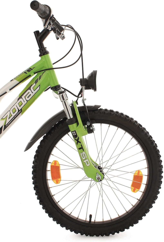 BLACK GREEN FireCloud Cycles THE BEAST KIDS Bike CHAIN GUARD for 12 WHEELS SILVER Design NEW