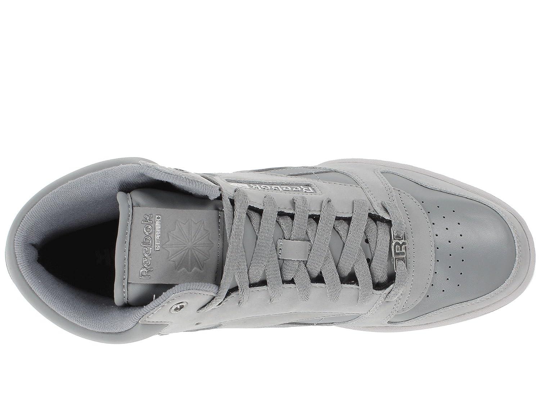 43e4b528a86e8 Reebok Men's CL Exertion Mid Flat Grey/Rivet Grey/Steel/Metallic Silver