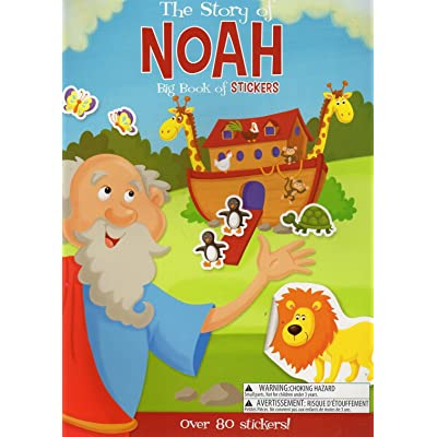 Big Book of Stickers - The Story of Noah - Activity Book Includes Over 80 Stickers: Toys & Games