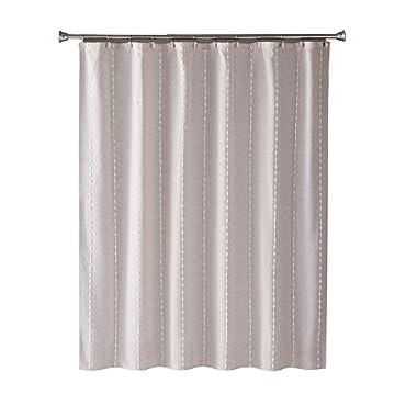 SKL Home by Saturday Knight Ltd. Davidson Stripe Shower Curtain, Natural