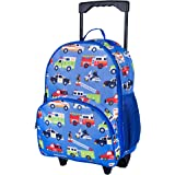 Wildkin Kids Rolling Luggage for Boys and Girls, Carry on Luggage Size is Perfect for School and Overnight Travel, Measures 1