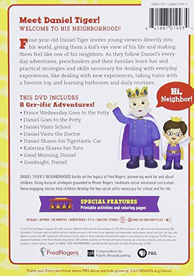 Big Enough to Help Daniel Tigers Neighborhood