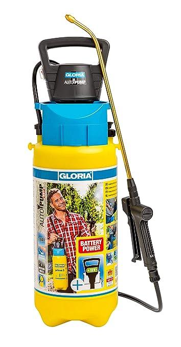 Gloria AutoPump Set Bomba eléctrica 5 litros, Amarillo: Amazon.es: Jardín