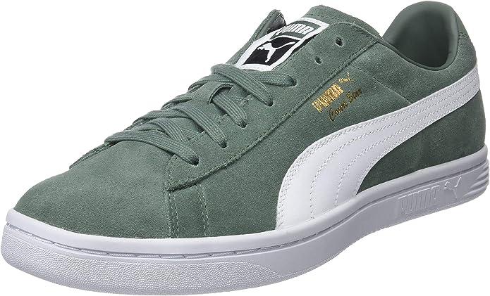 Puma Court Star FS Sneaker Damen Herren Unisex Grüngrau