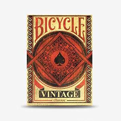 Amazon.com: Bicycle Vintage Classic Playing Cards: Sports ...