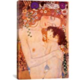 iCanvasART Mother and Child by Gustav Klimt Canvas Art Print, 40 by 26-Inch