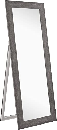 Naomi Home Freestanding Cheval Floor Mirror Gray