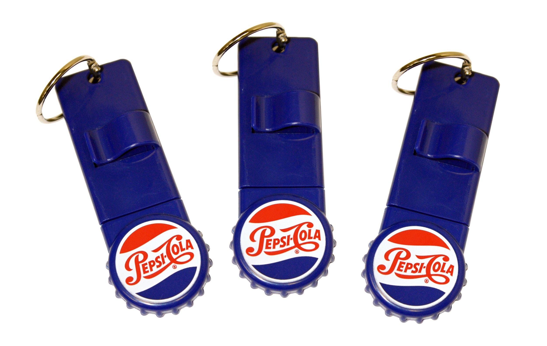 Jokari 18005P3 3 Count Pepsi Heritage Logo Reward Card Holder, Red/White/Blue