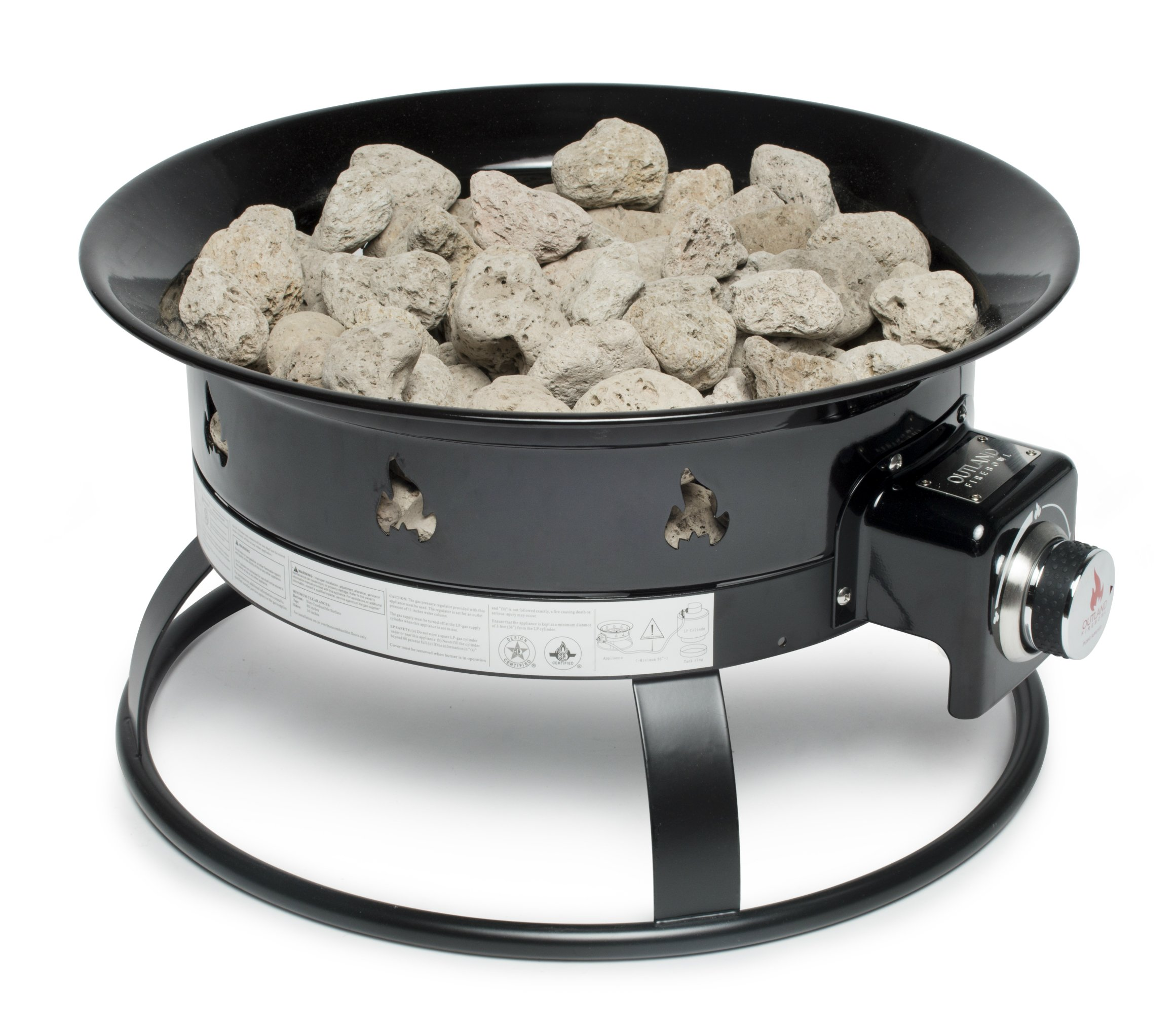 outland portable fire bowl