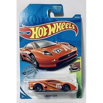 Hot Wheels 2020 HW Exotics Jaguar XJ220 234/250, Orange: Toys & Games