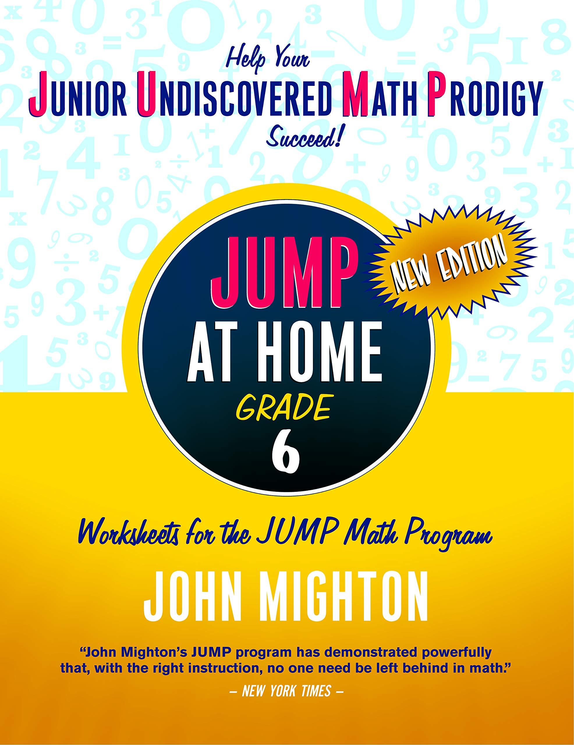 JUMP at Home Grade 6: Worksheets for the JUMP Math Program pdf