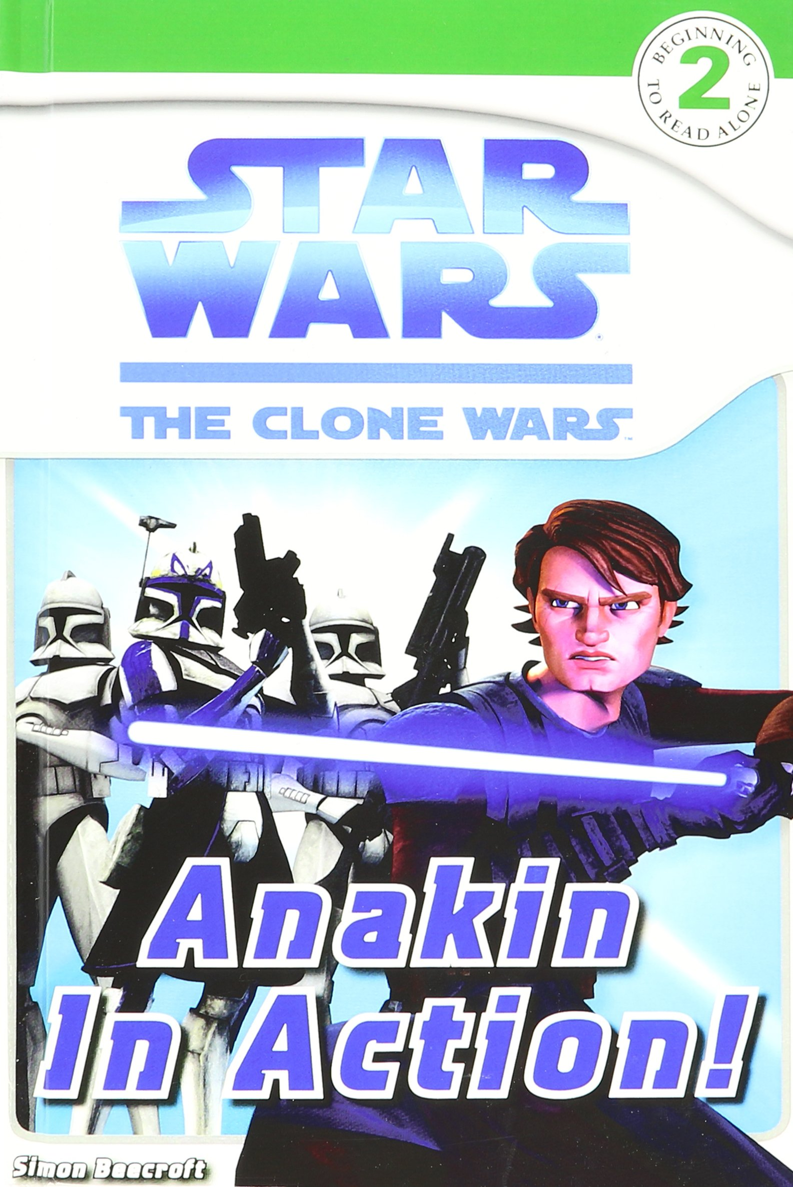 Read Online Anakin in Action! (Star Wars: Clone Wars; DK Readers, Level 2) ebook