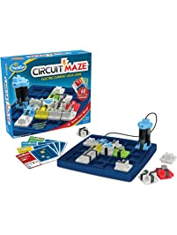 ThinkFun Circuit Maze Electric Current Logic Game and STEM Toy for Boys and Girls Age 8 and Up - Toy of the Year Finalist...