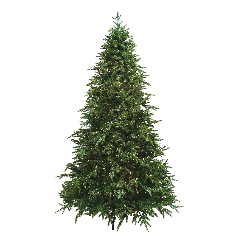 Amazon.com: ULTIMA 7.5\' Artificial Christmas Tree, 680 Dual-Color ...