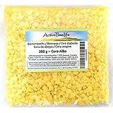 100% reine Bienenwachs Pastillen Bio, 200 g, für Kosmetik Kerzen Cremes Salben Seifen