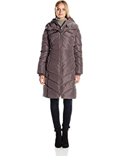 Jessica Simpson Womens Maxi Puffer With Bib