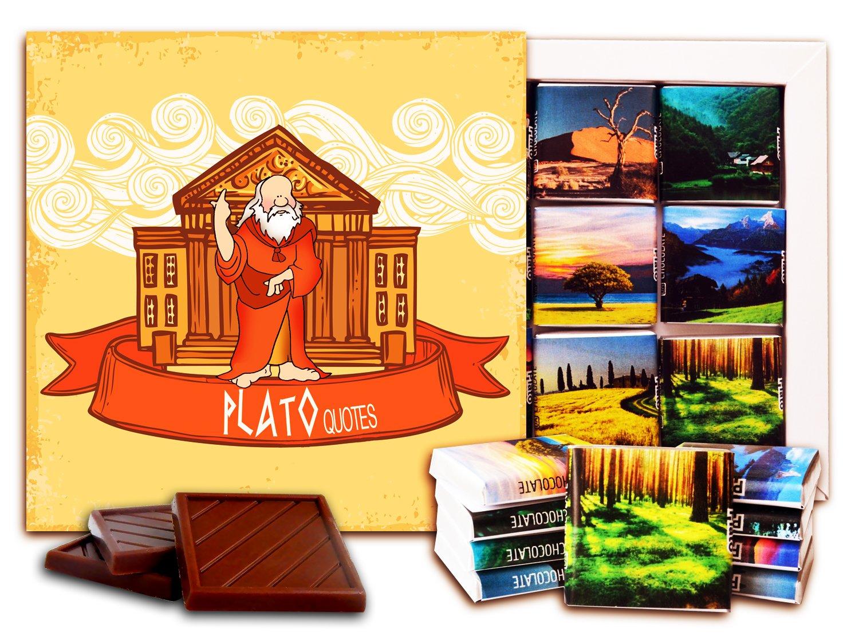 DA CHOCOLATE Candy Souvenir Plato Chocolate Set 5x5