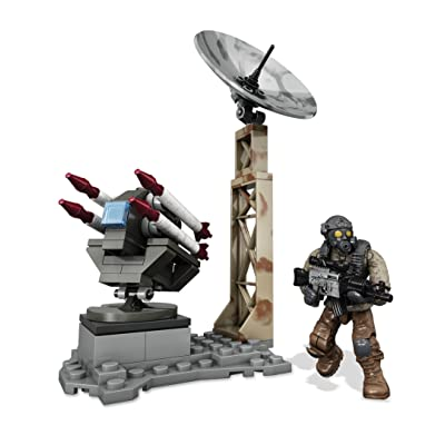 Mega Construx Call of Duty Rocket Turret: Toys & Games