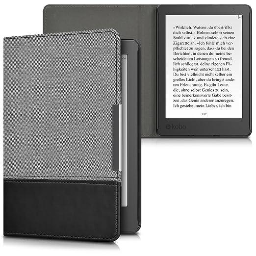 78 opinioni per kwmobile Cover per Kobo Aura Edition 2- Custodia a libro per eReader- Copertina