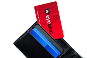 4 RFID Blocking Cards from Eyebloc - Credit & Debit Card Protector