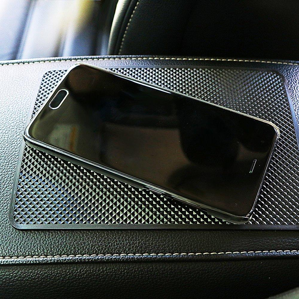 Alxcio Auto Anti Rutsch Matte Armaturenbrett Antirutschmatte Klebematte klebrig Pad abwaschbar hitzebest/ändig Auto Rutschfest Pad f/ür Handys Brillen Schl/üssel