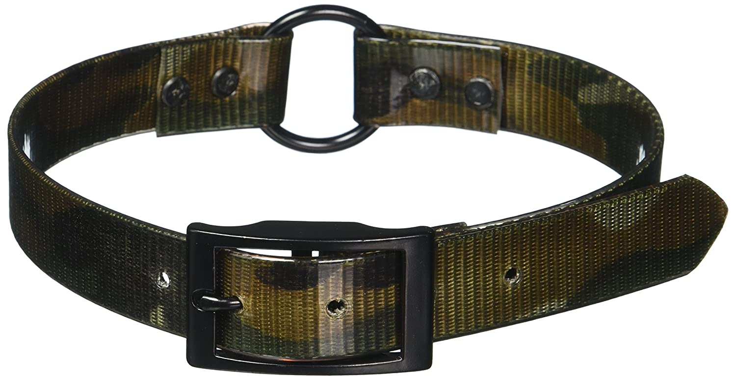 Camouflage 1\ Camouflage 1\ OmniPet 110D-NM25 1  x 25  Sun Glow Ring in Center Style Collar, Large, Camouflage