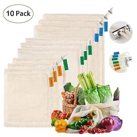 Amazon.com: LKDEPO - Juego de 10 bolsas de almacenamiento ...