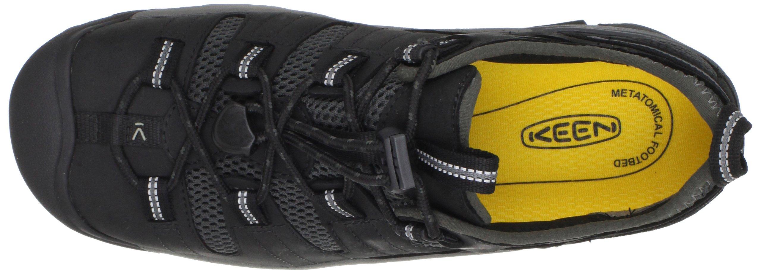 KEEN Utility Men's Atlanta Cool Steel Toe Work Shoe,Black,9.5 EE US by KEEN Utility (Image #7)