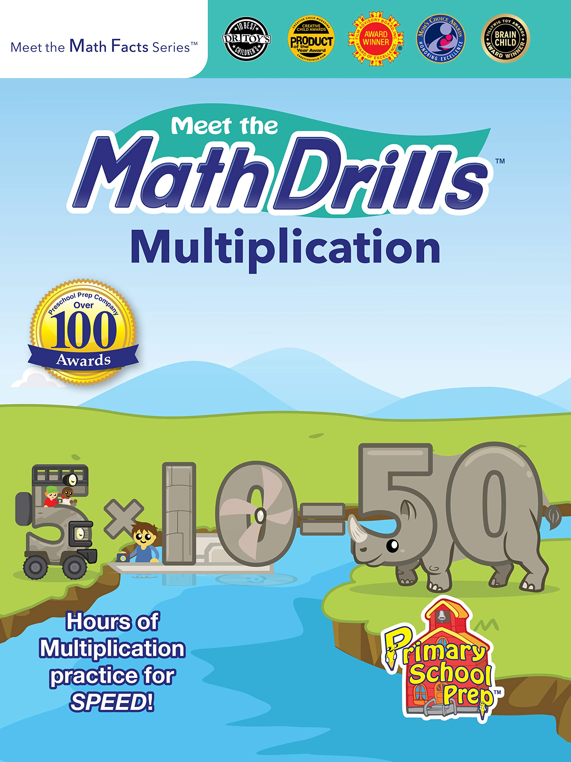 Amazon.com: Meet the Math Drills: Multiplication: Kathy Oxley ...