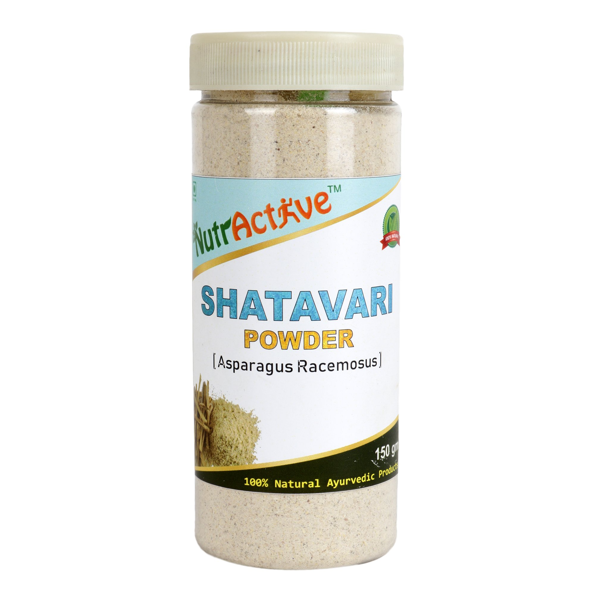 NutrActive Asparagus Powder - 150 gm (Pack of 1)
