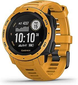 Garmin 010-02064-44 Instinct Outdoor GPS Smartwatch, Sunburst