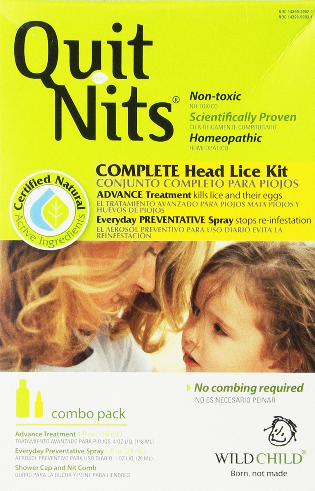 Hyland's Wild Child Quit Nits Complete Head Lice Kit