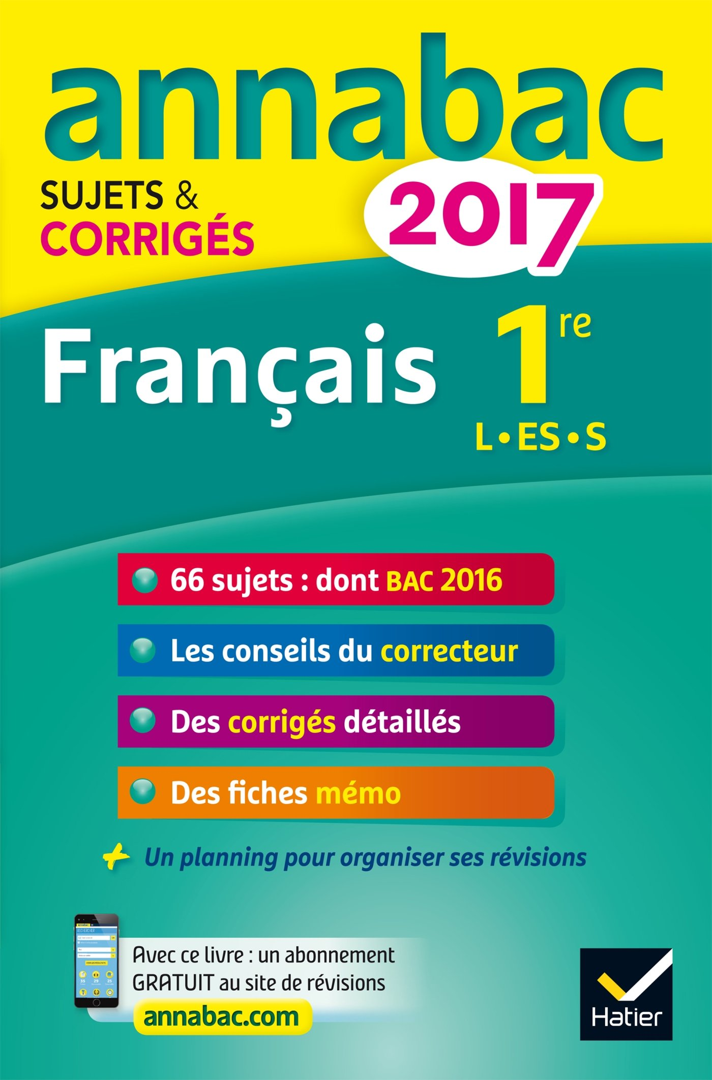 Annales Annabac 2017 Français 1re L, ES, S: sujets et corrigés du bac Première séries générales: Amazon.es: Sylvie Dauvin, Jacques Dauvin: Libros en idiomas ...