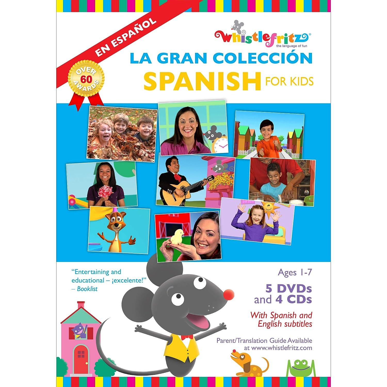 Spanish for Kids: La Gran Colección (5 videos, 4 music albums)
