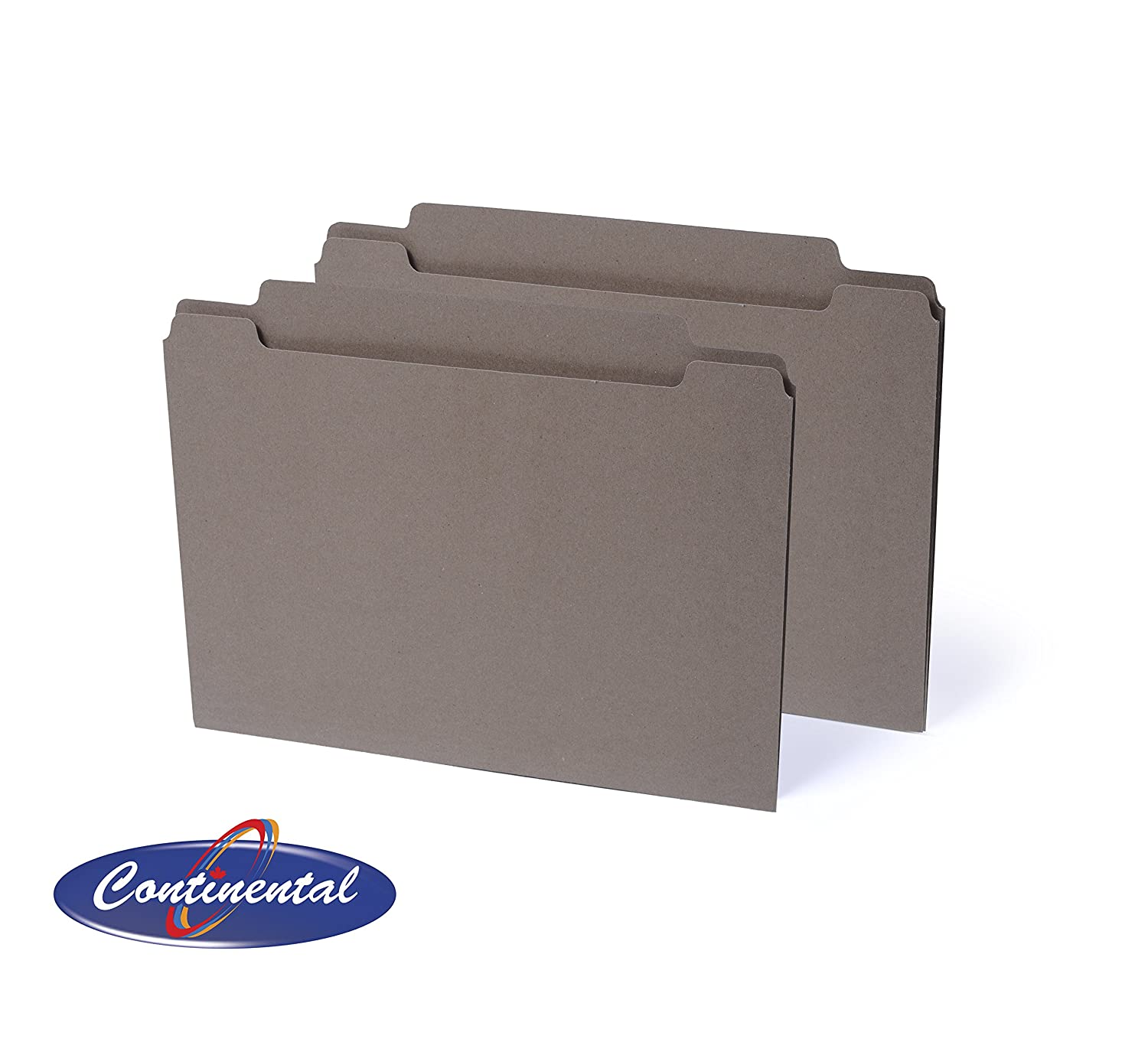 Sand Letter File Folders, Straight Cut Tab, Recycled 100 Per Box