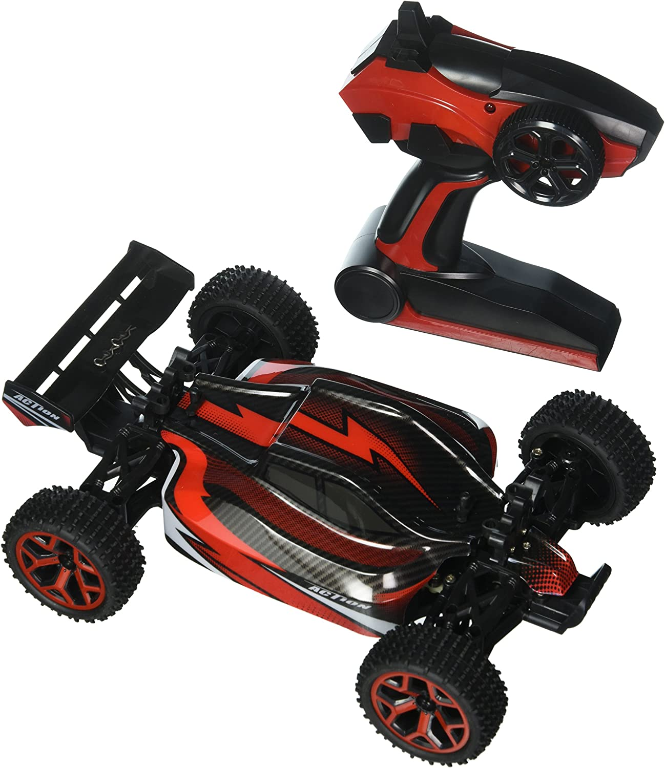 1//18 RC Car 4WD Off-Road Truck 2.4Ghz Extreme High Speed RC Vehicle Buggy Car US