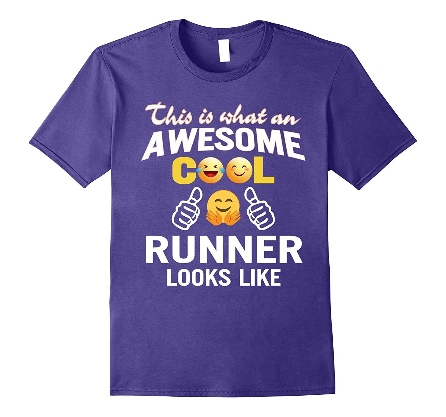 Awesome Cool Runner Looks Like T-Shirt Gift-TH