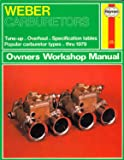 Weber Carburetors Owners Workshop Manual