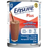 Ensure Plus, Meal Replacement, Complete Balanced Nutrition, Chocolate, 12 x 235 mL Can