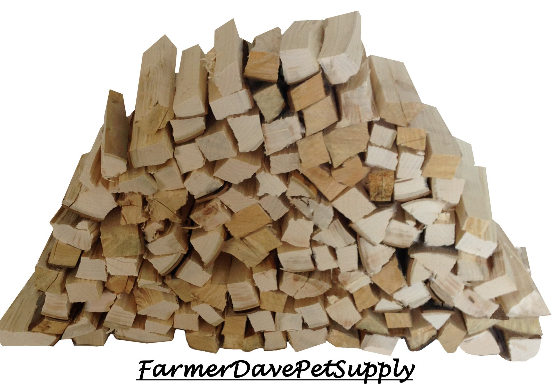 FarmerDavePetSupply 1200 Cubic Inch SUGAR MAPLE WOOD BBQ GRILLING SMOKER STICKS