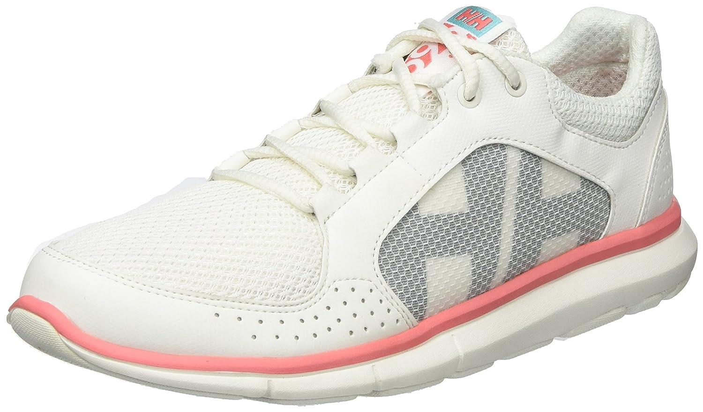 Helly Hansen 11216, Zapatillas Mujer 38.7 EU|Blanco (Off White/ Shell Pink/ Blue Tint)