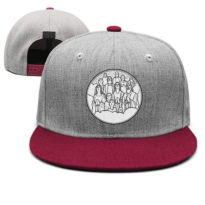 A Prayer for All Saints  Day Woolen Baseball Caps Visor Hats for Men Women 9b33e751091