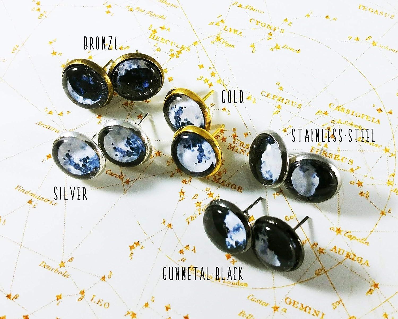 Taurus Zodiac Stud Earrings